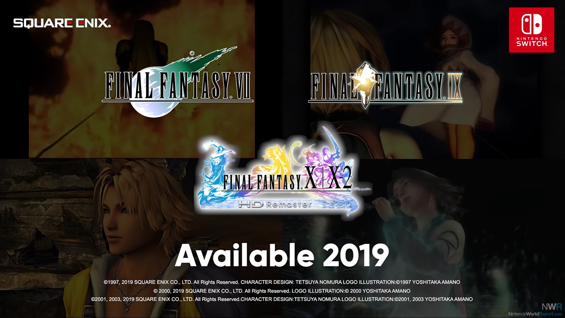 Final Fantasy Is Being Well Represented On Switch - News - Nintendo