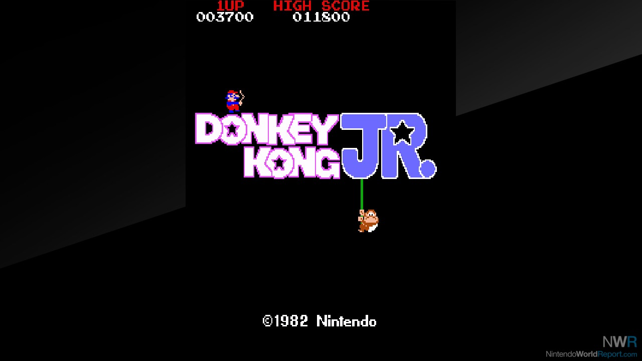 Arcade Archives Donkey Kong Jr Review Review Nintendo World Report
