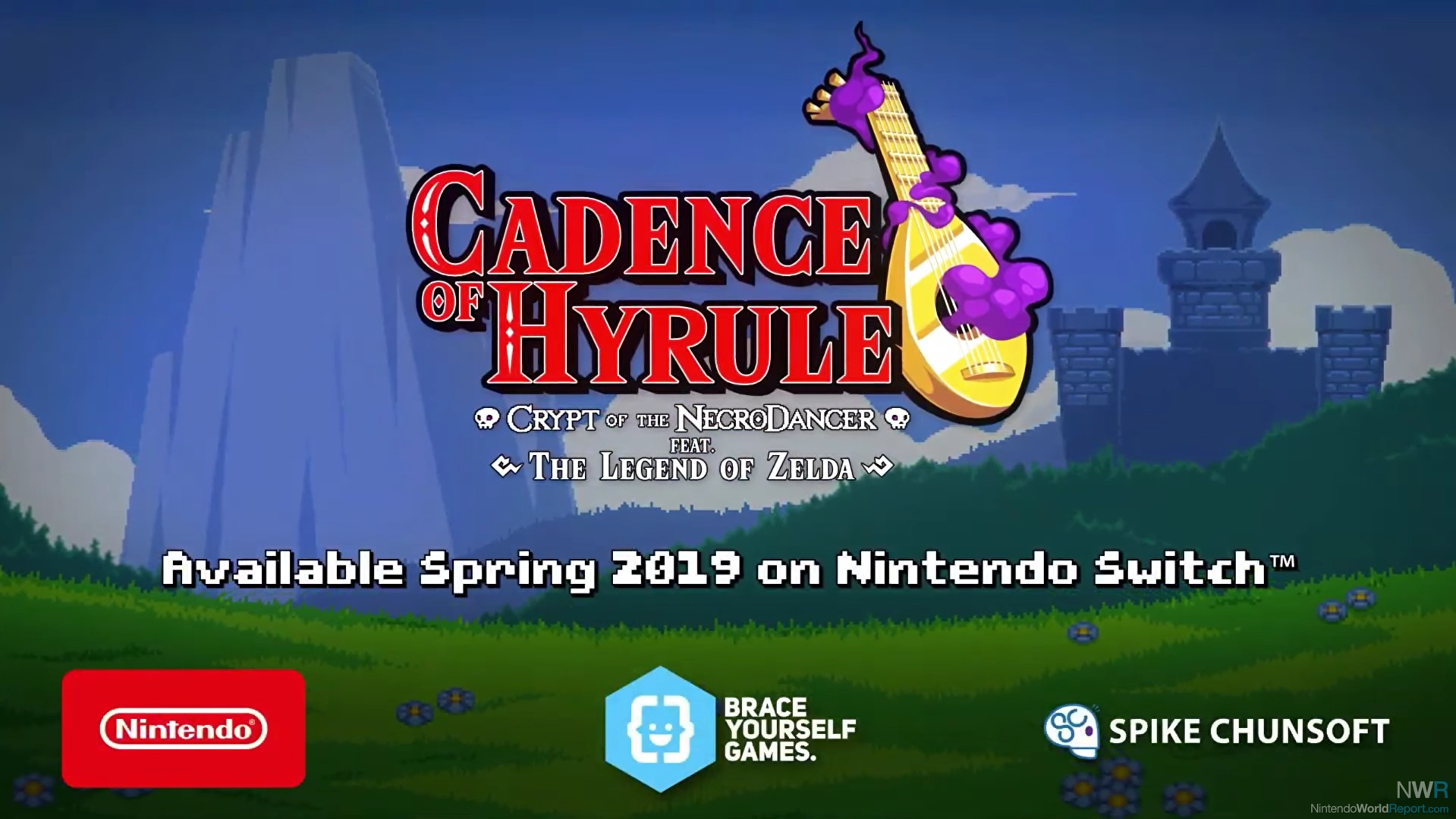 Cadence of Hyrule is a Zelda and Crypt of the Necrodancer mashup