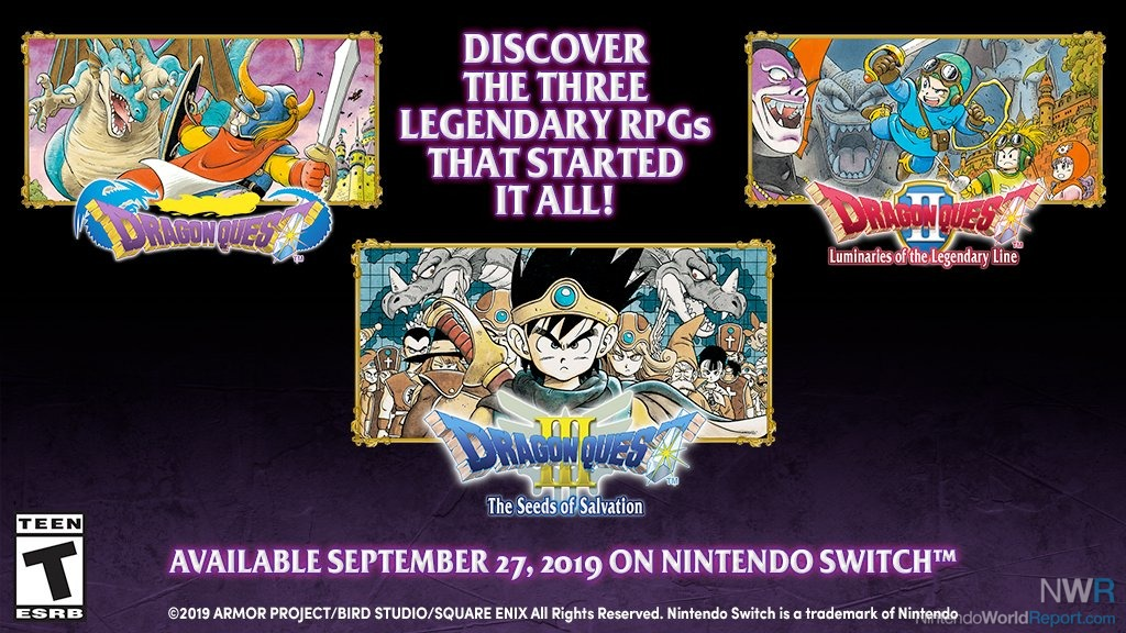 Dragon Quest Collection Coming West On September 27 - News