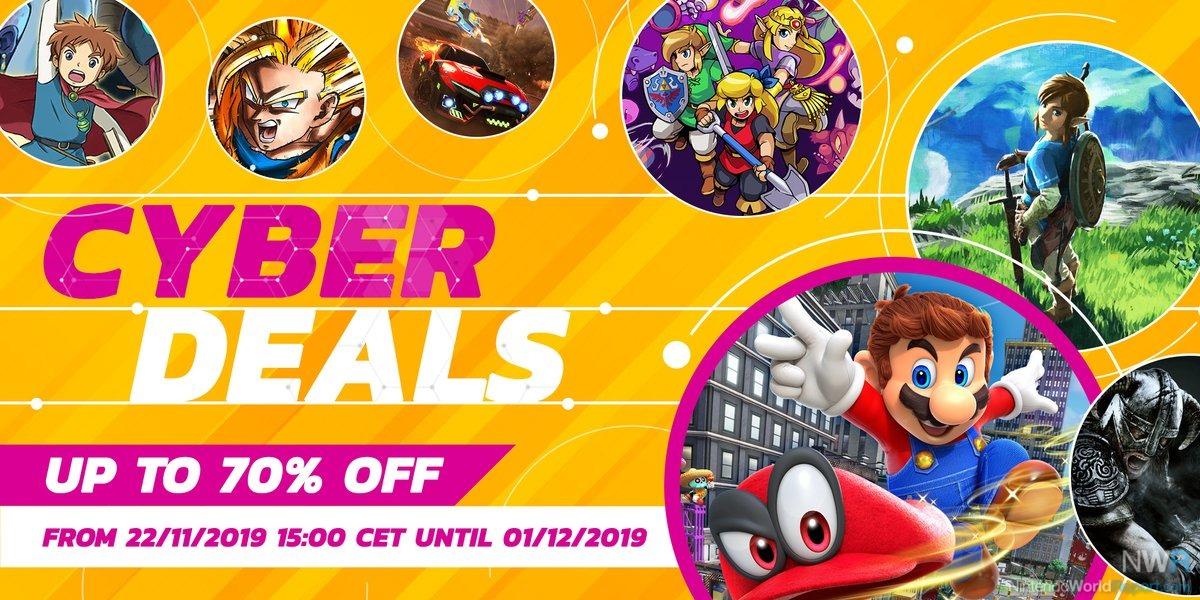 Cyber Deals από την Nintendo Ευρώπης!