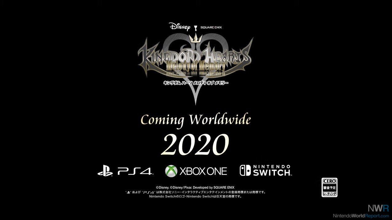 Kingdom Hearts: Melody of Memory Revealed for Switch, PS4, XB1 in 2020