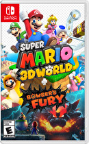 Super Mario 3D World + Bowser's Fury Box Art