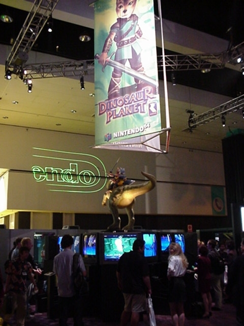 Dinosaur Planet on display before it became Star Fox Adventures