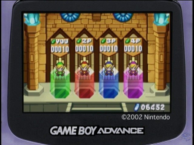 The Legend of Zelda: A Link to the Past + Four Swords Hands