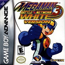 Mega Man Battle Network 3: Blue and White version Box Art