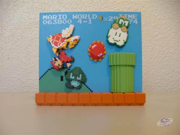 LS Prize: Mario Toppled Scene