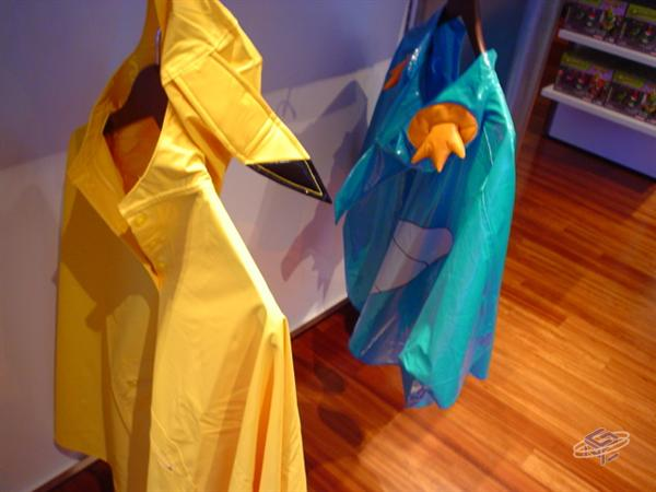 Pokemon Ponchos for the Little Ones