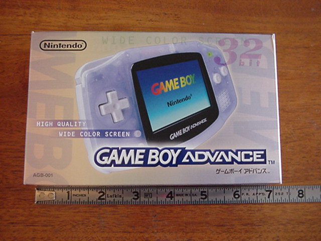 GBA Box and Ruler
