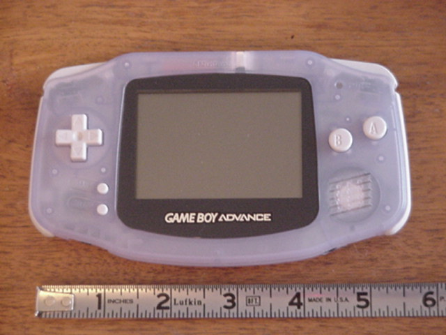 GBA and ruler