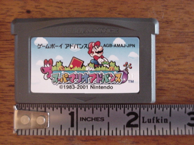 Tiny Mario Cartridge